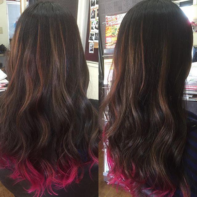 WEBSTA @ hairdresser_galaxy - GALAXY❤︎ オレンジ