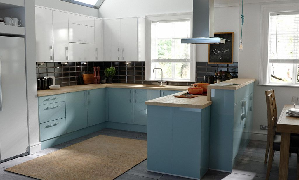 wren kitchens: this stunning design breathes tranquility and we