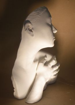 Make a plaster sculpture of your own torso | Craft Ideas