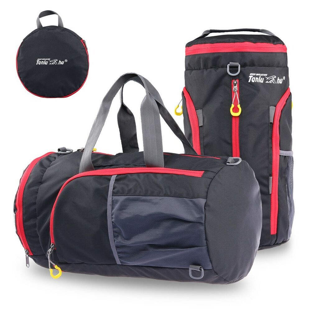 Women Waterproof Sport Gym Shoulder Bag Travel Luggage Duffel Handbag Tote US