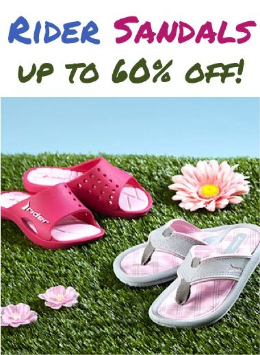 246021abc1e112 Rider Sandals for Women and Kids ~ up to 60% off!  8.99+   sandals ...