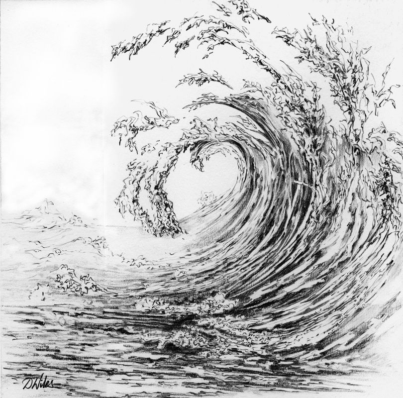 ocean pencil - Google Search | Surb Illustration ...