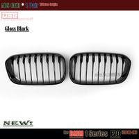 2015 F20 Lci Black Bumper Grill Replacement Abs Car Grille For