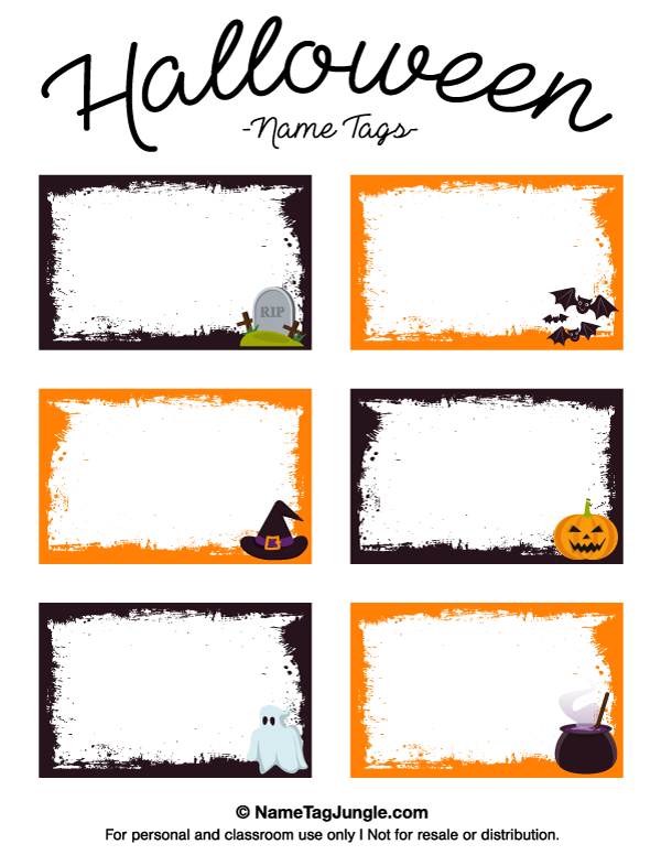 picture about Free Printable Halloween Labels identify Pin by means of Muse Printables upon Status Tags at inside of