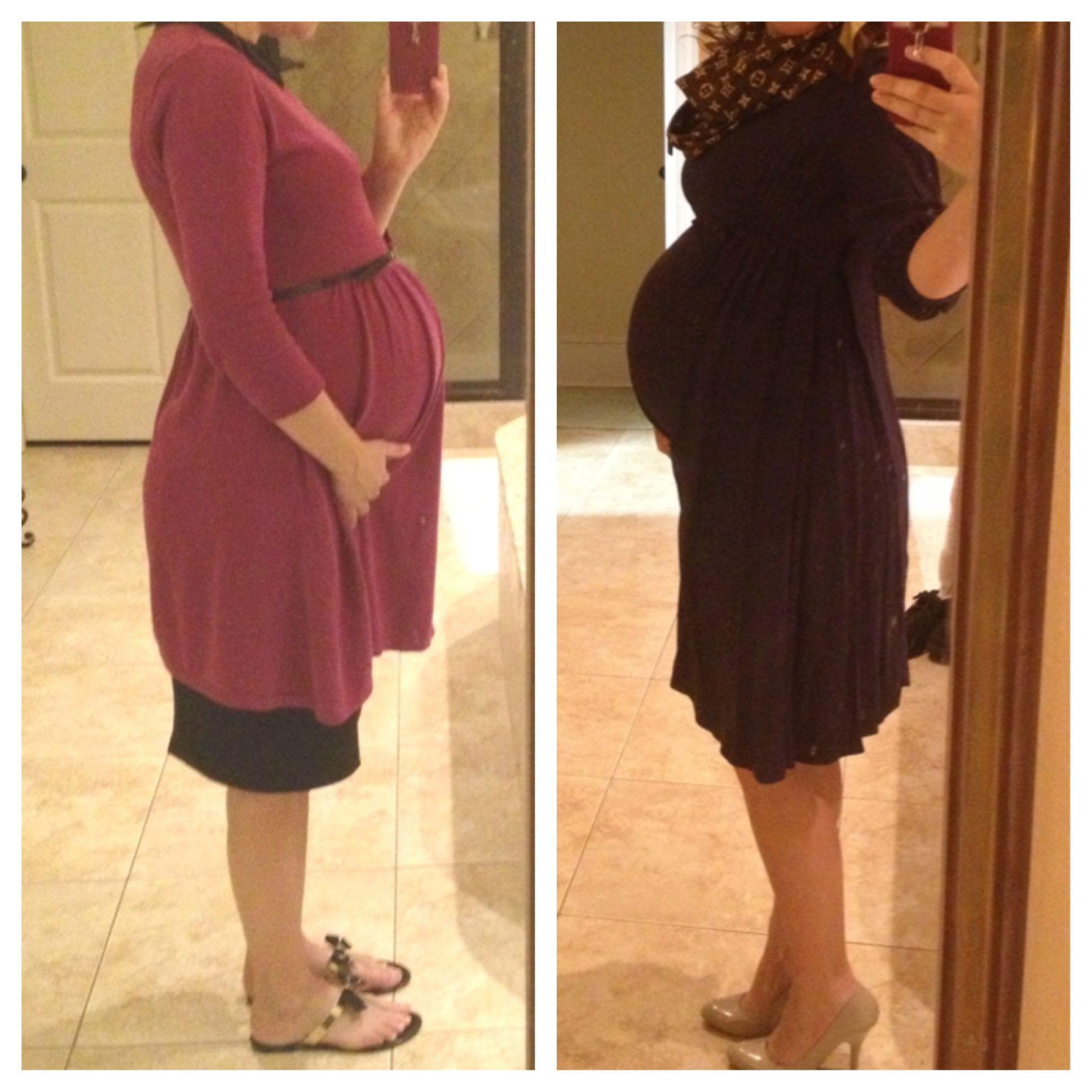 Maternity.  Asos Dresses.   40 weeks.