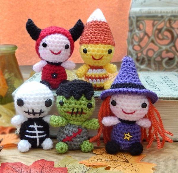 Minimals - Teeny Halloweeny Amigurumi Pattern | Amigurumi ...