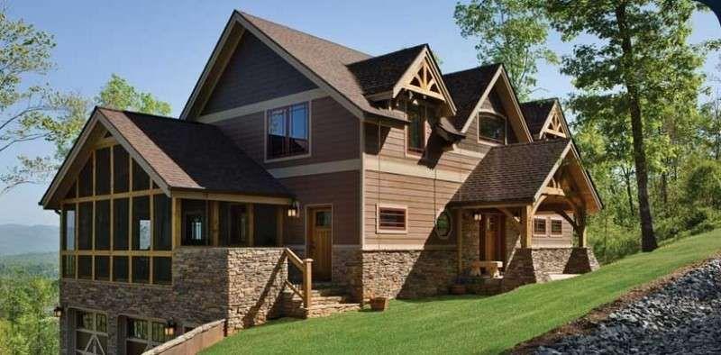 Risultati immagini per casa in legno stile americano for Case stile americano interni