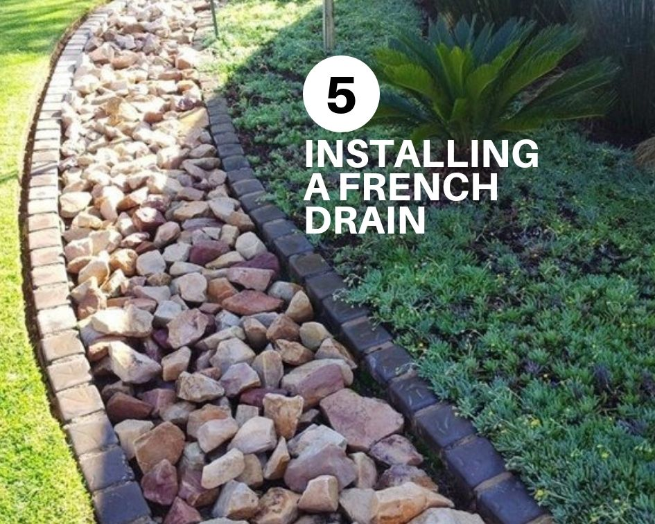 5 Tips For Installing A French Drain - The Architects ...