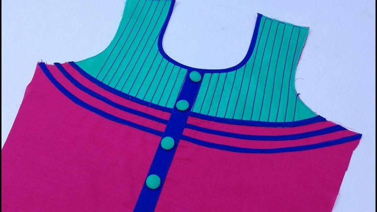 5891aaf2edb2ae Top Beautiful Neck Design Cutting and Stitching   Rup Fashion ...
