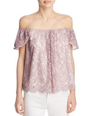 29bed447a9412 REBECCA MINKOFF Shoulder Top.  rebeccaminkoff  cloth  top
