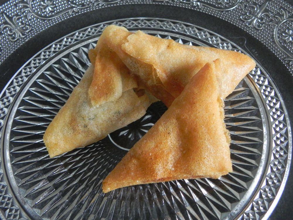 Ingredients Pour 10 Samoussas 5 Feuilles De Brick 2 Pommes De