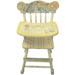 I Just Ordered An Unfinished High Chair Just So I Could Paint This On It!