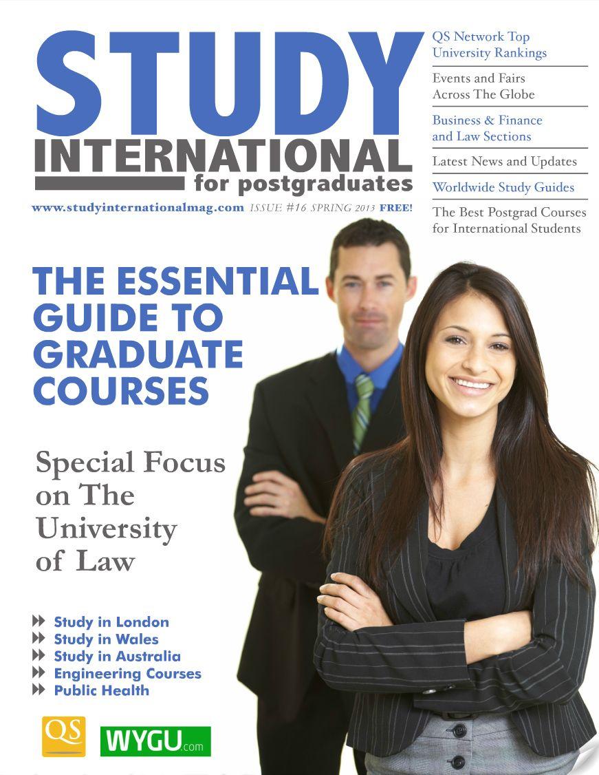STUDY INTERNATIONAL - Spring 2013