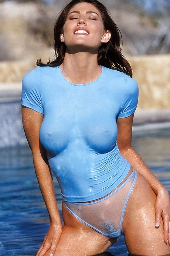 Dam I Just Love Wet T Shirts And See Through Panties Edwin Hot