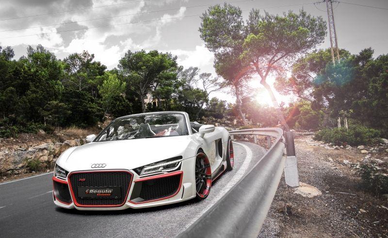 Audi R8 V10 SPYDER MIT BODYKIT von REGULA TUNING. Seit seinem Erscheinen vor inzwischen sieben Jahren hat der Audi R8.. #audir8