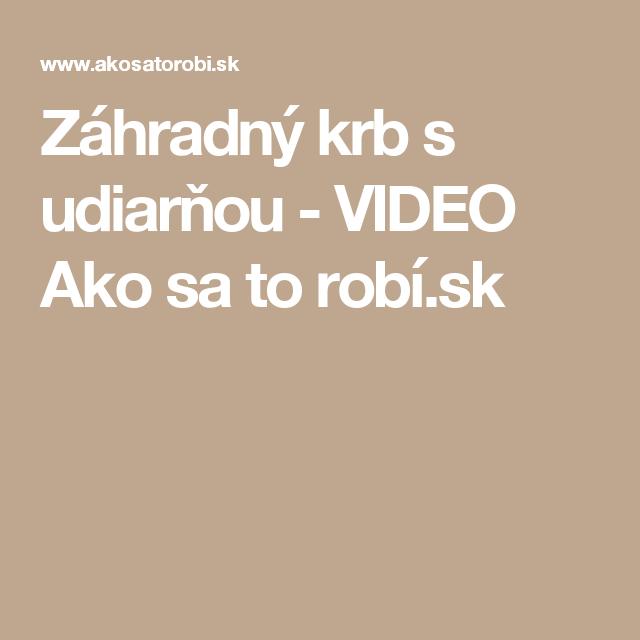 Záhradný krb s udiarňou - VIDEO Ako sa to robí.sk