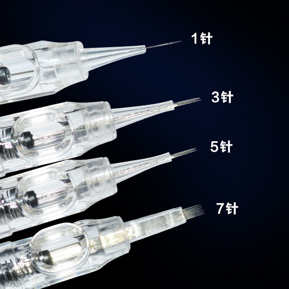 Electric Micro Needle Micro Nano Needle Eyebrow Tattoo Machine Chip Chip Nano Electric Micro Needle Replacement He Derma Pen Beauty Tattoos Permanent Cosmetics