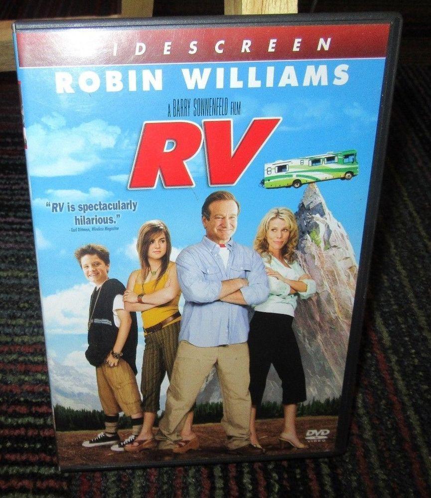Rv Dvd Movie Robin Williams Jeff Daniels Cheryl Hines Munro Family Road Trip Robin Williams Cheryl Hines Dvd Movies