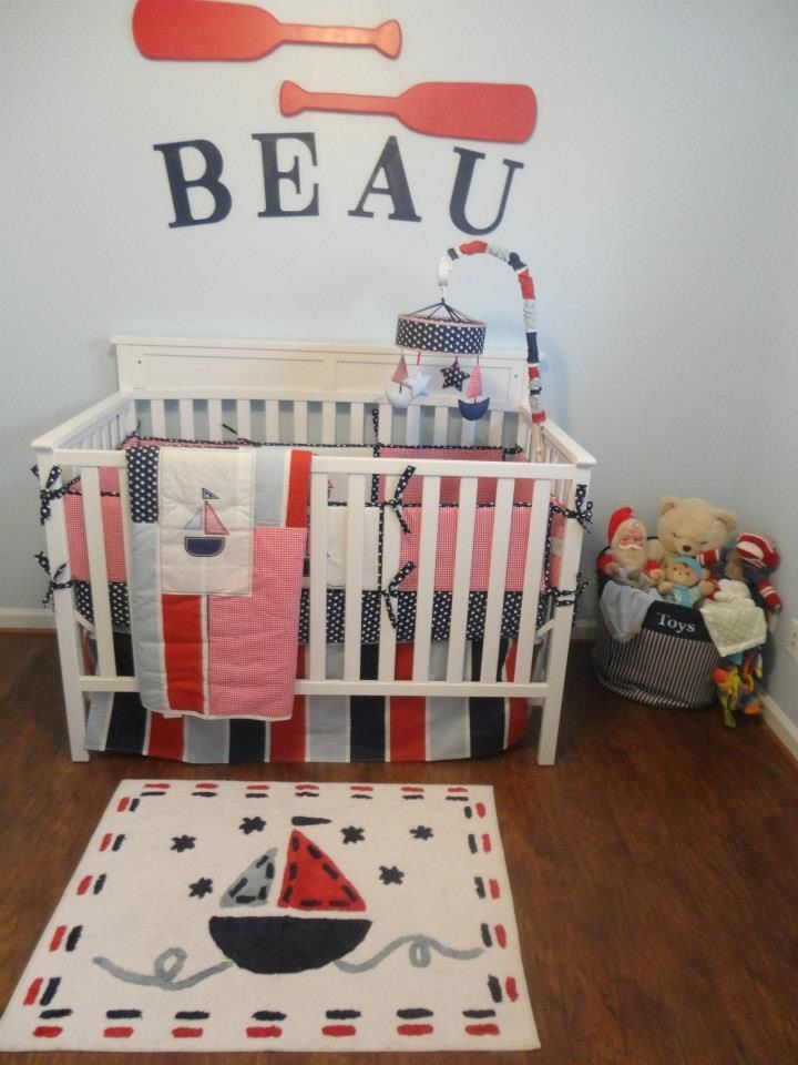 Beau's nautical nursery