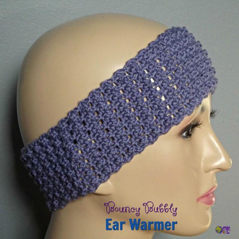 Bouncy Bubbly Ear Warmer | Cre8tion Crochet Community Board | Pinterest