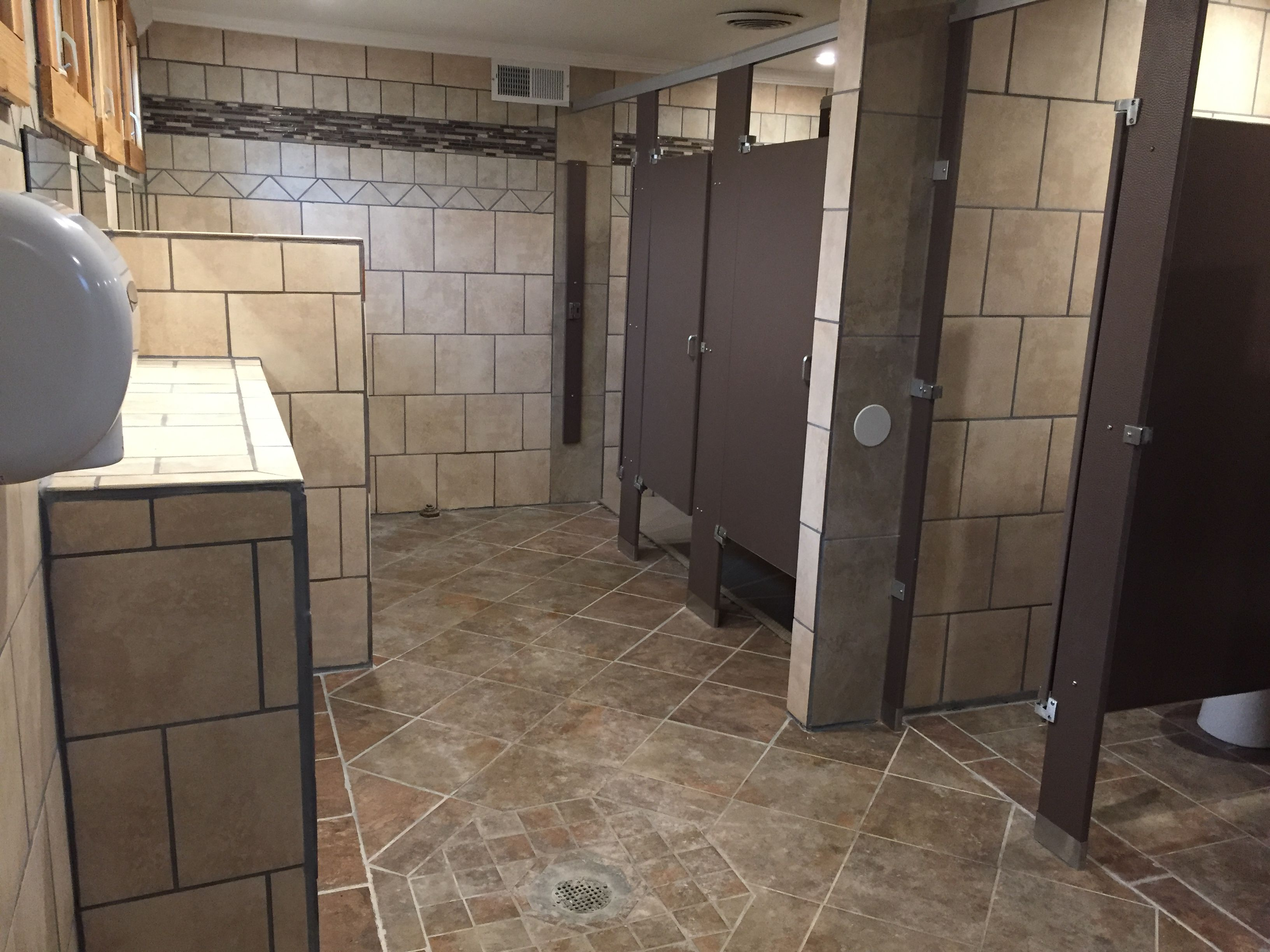 Extensive Bathroom Remodel At The Indianapolis Koa Holiday Simple Bathroom Remodel Indianapolis Review