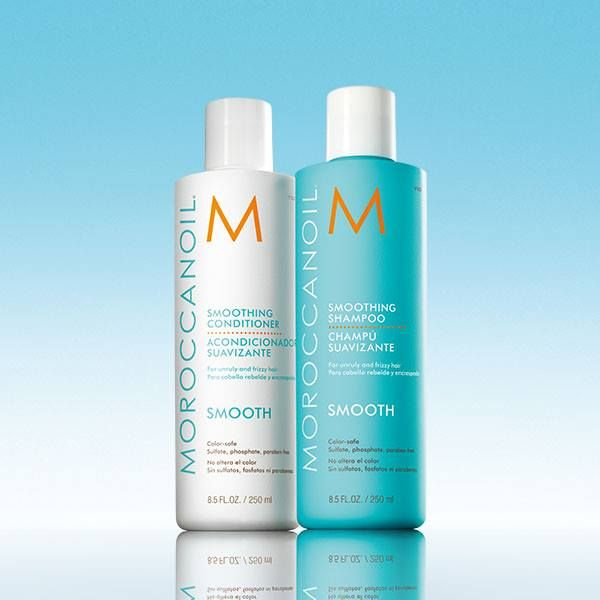 Moroccan Oil Smoothing Shampoo And Conditioner This Power Duo Is