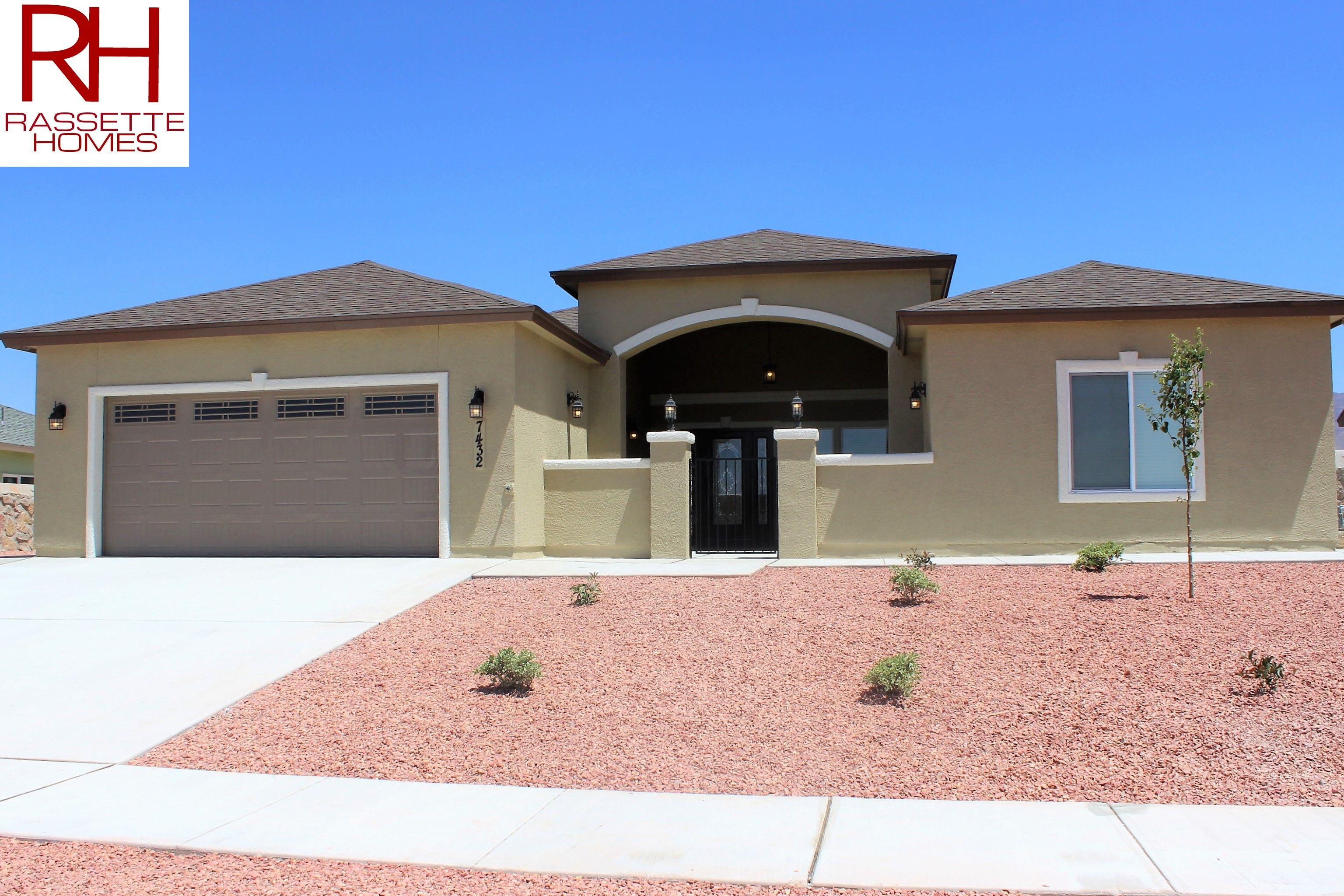 Garage Doors El Paso Texas Rassette Homes Home Builder In El Paso Tx Canutlllo Heights