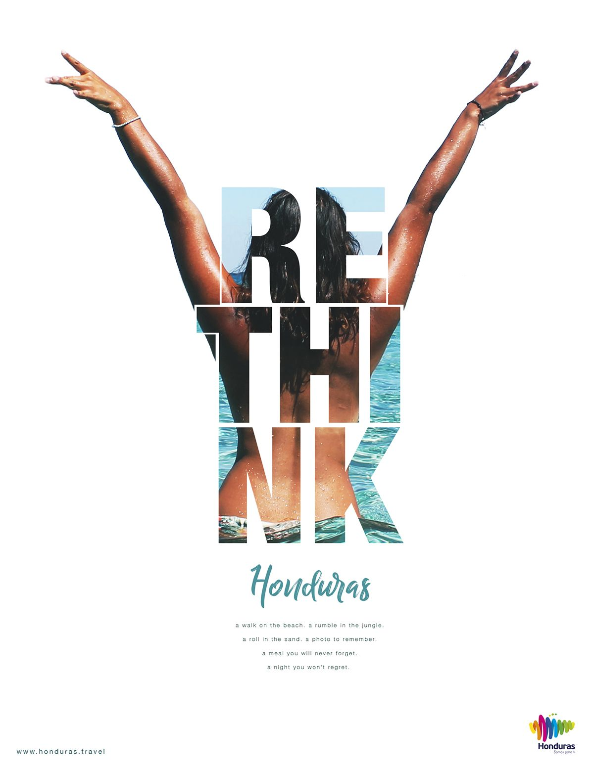 rethink honduras print campaign on | rethink | design, graphic