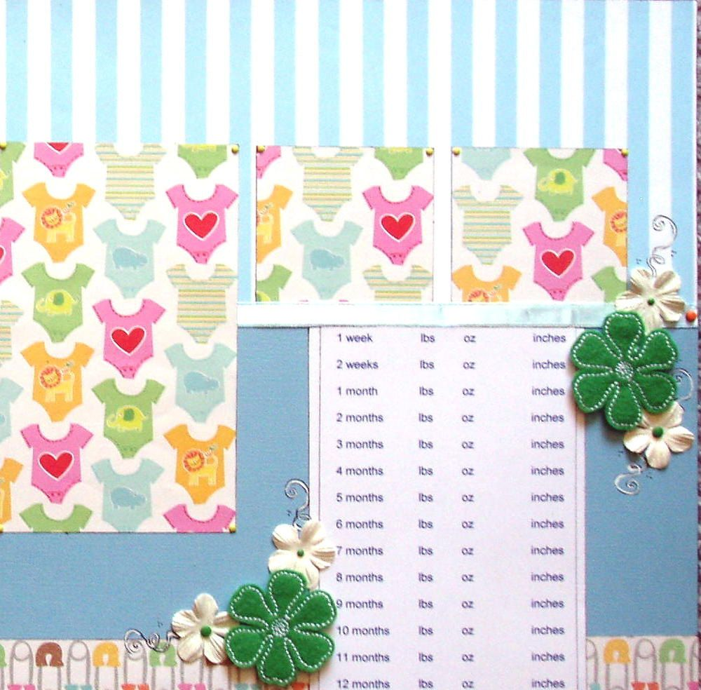 12x12 double page scrapbook layout babys growth chart 12x12 double page scrapbook layout babys growth chart geenschuldenfo Image collections
