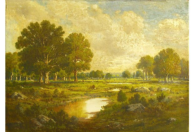 Landscape w/ Trees on OneKingsLane.com