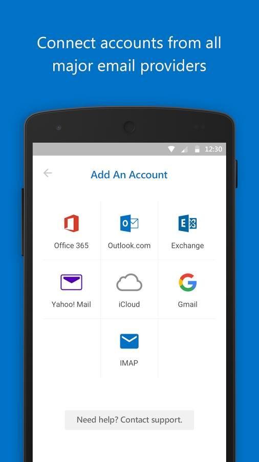 دانلود برنامه مدیریت ایمیل مایکروسافت اندروید Microsoft