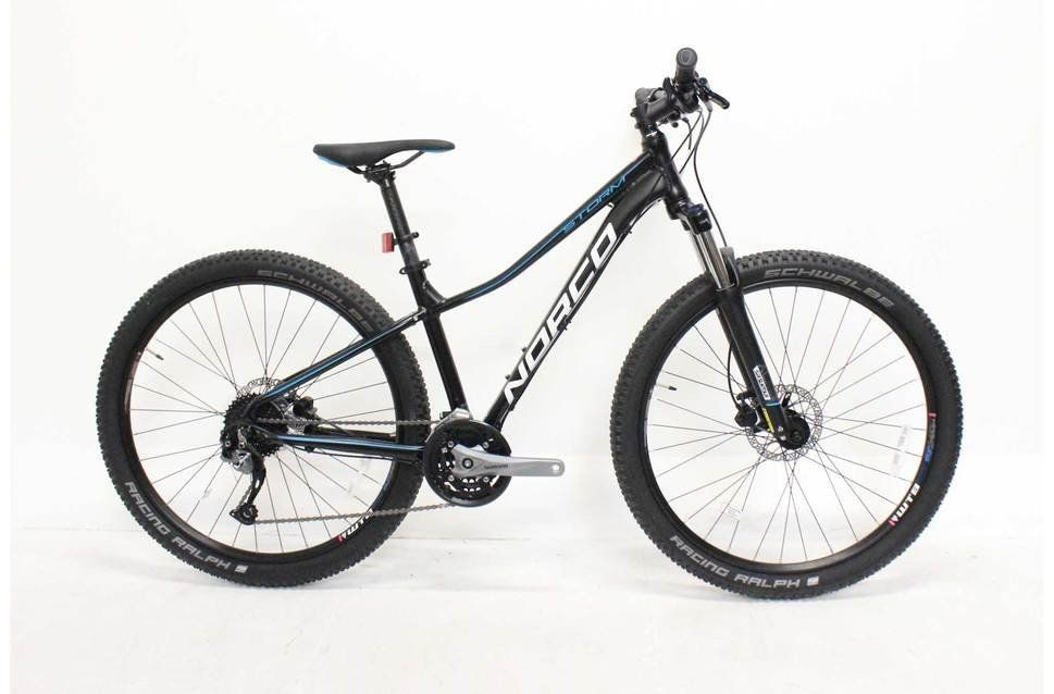Designed with the recreational rider in mind, the Storm is a hardtail mountain bike for the masses. Featuring 650B...