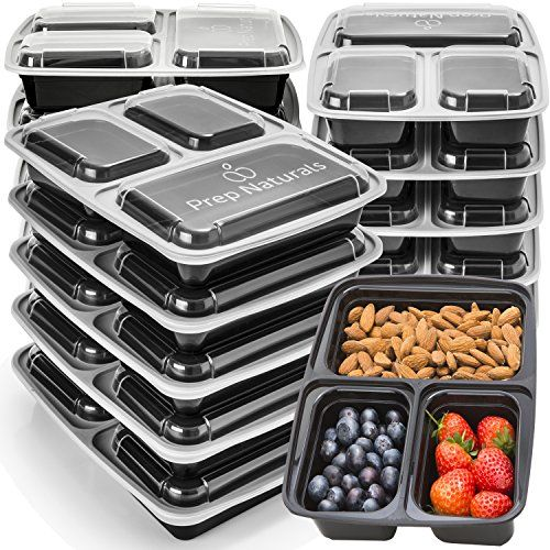 Meal Prep Containers 3 Compartment Food Storage Contain Https