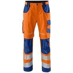 Kübler unisex Warnschutzhose Reflectiq orange Größe 27 KüblerKübler