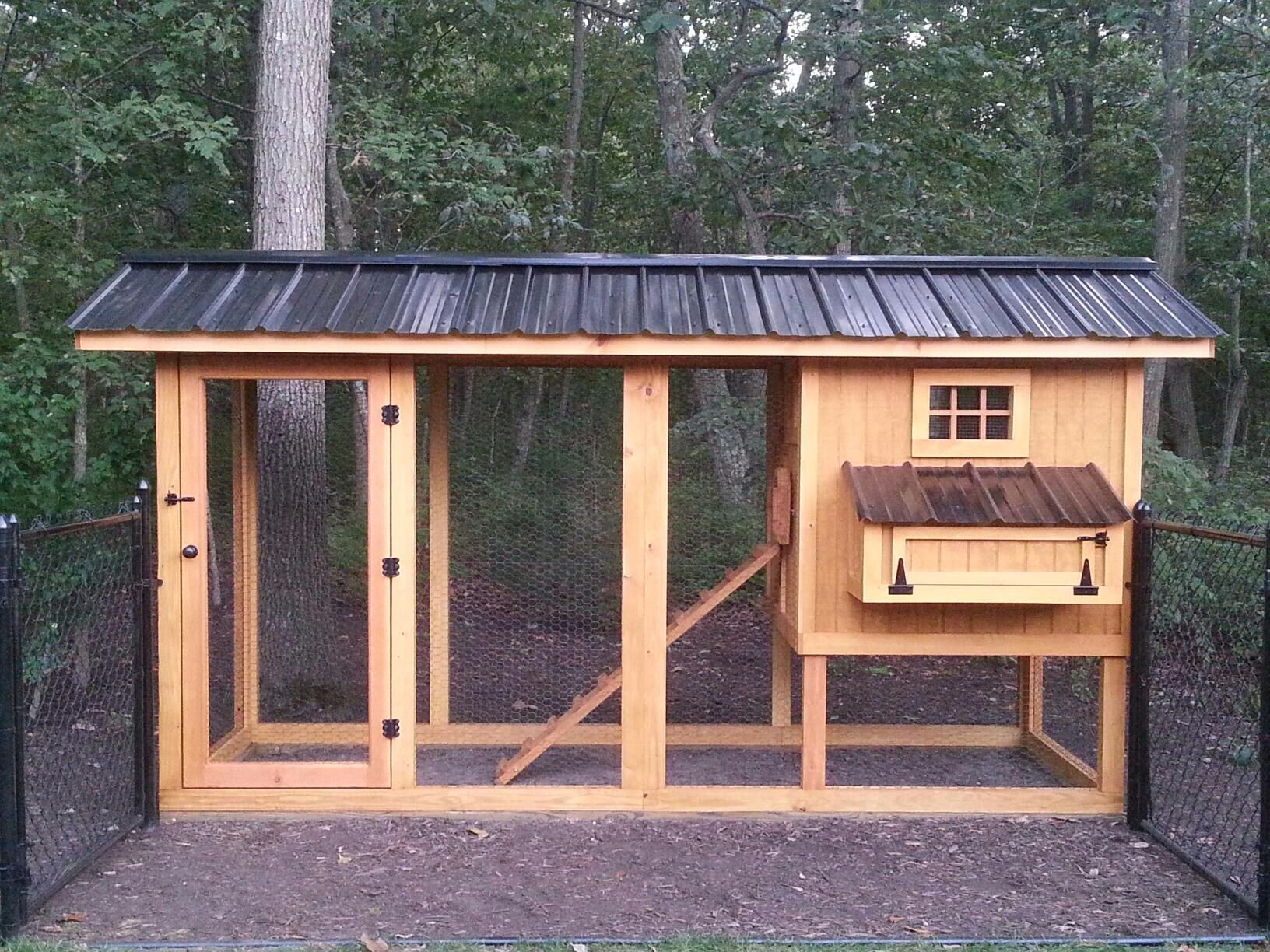 Awesome Custom Chicken Coop From Carolina Coops Chickens