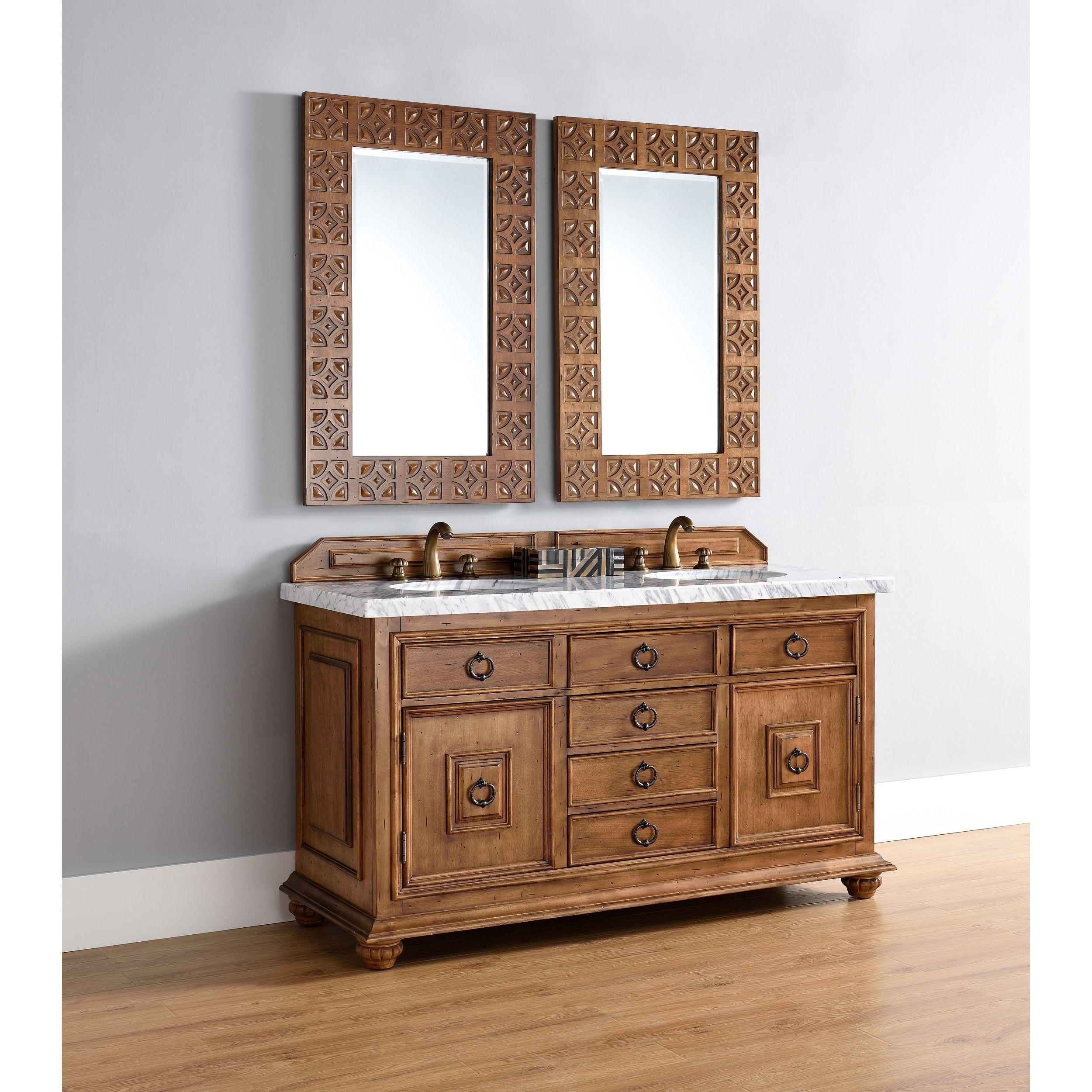 James Martin Furniture Mykonos 60 Double Vanity Cabinet W Drawers