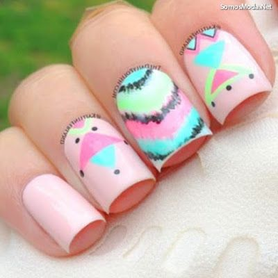 Uñas Decoradas Faciles Para Niñas Nails Pinterest Nails