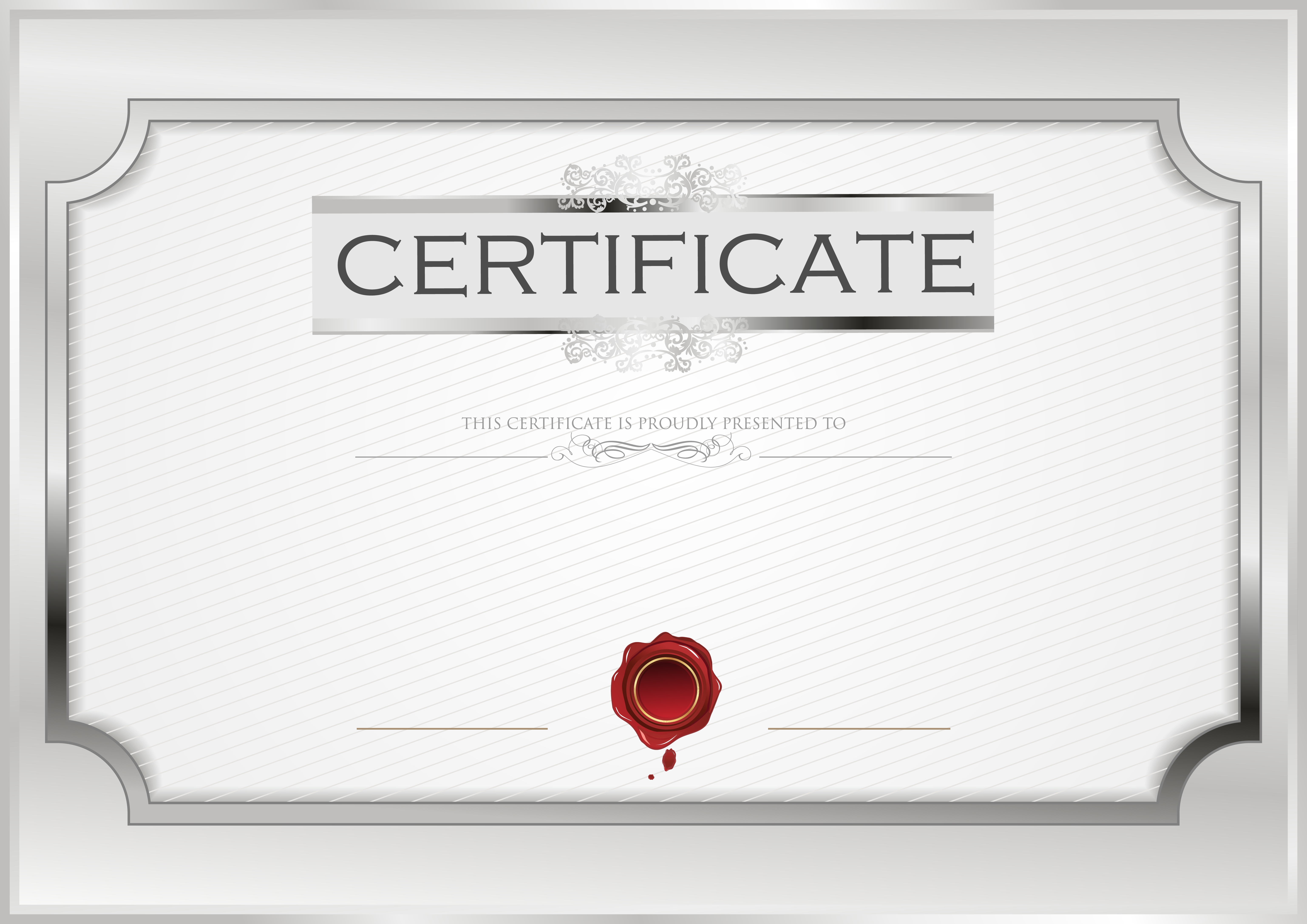 Certificate Template Blank Image  Gallery Yopriceville  High