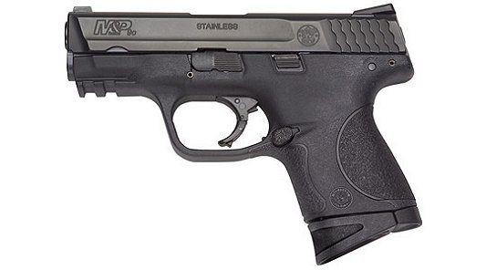 "Smith & Wesson Black 10 + 1 9MM Compact/3.5"" Barrel/Massachu"