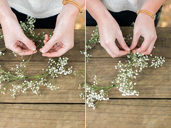 100 Layer Cakelet Diy Flower Crown Baby Breath Flower Crown Diy Crown