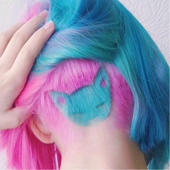 Undercut Hair Tattoo Styles For Men And Women | Tattoodo