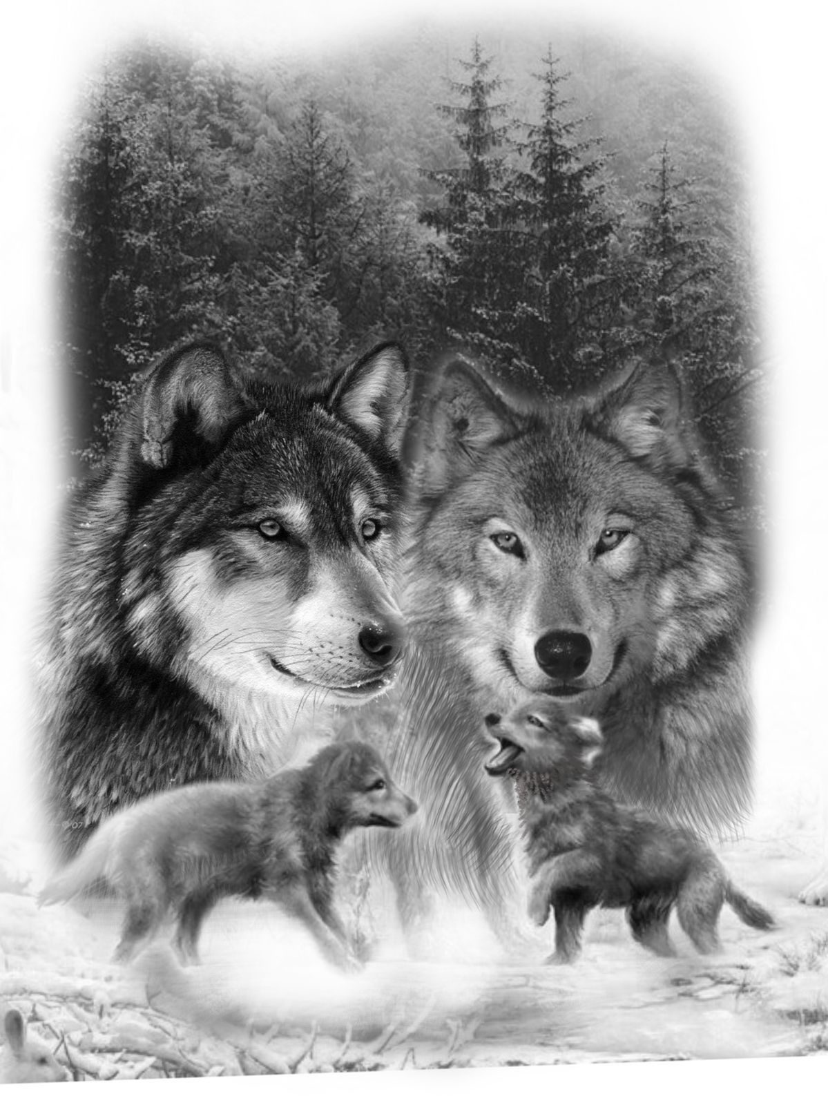 Tattoo Idea Wolf Pack Tattoo Wolf Tattoo Design Wolf Tattoos