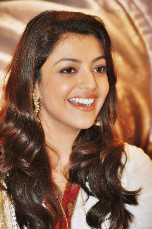 Kajal Agarwal With Cute Smile Beautiful Smile Most Beautiful Indian Actress Beautiful Indian Actress