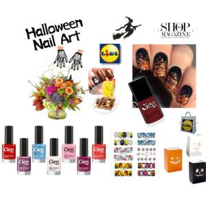 Halloween Nail ArtLiDL Cien Nail Shop Magazine Blog