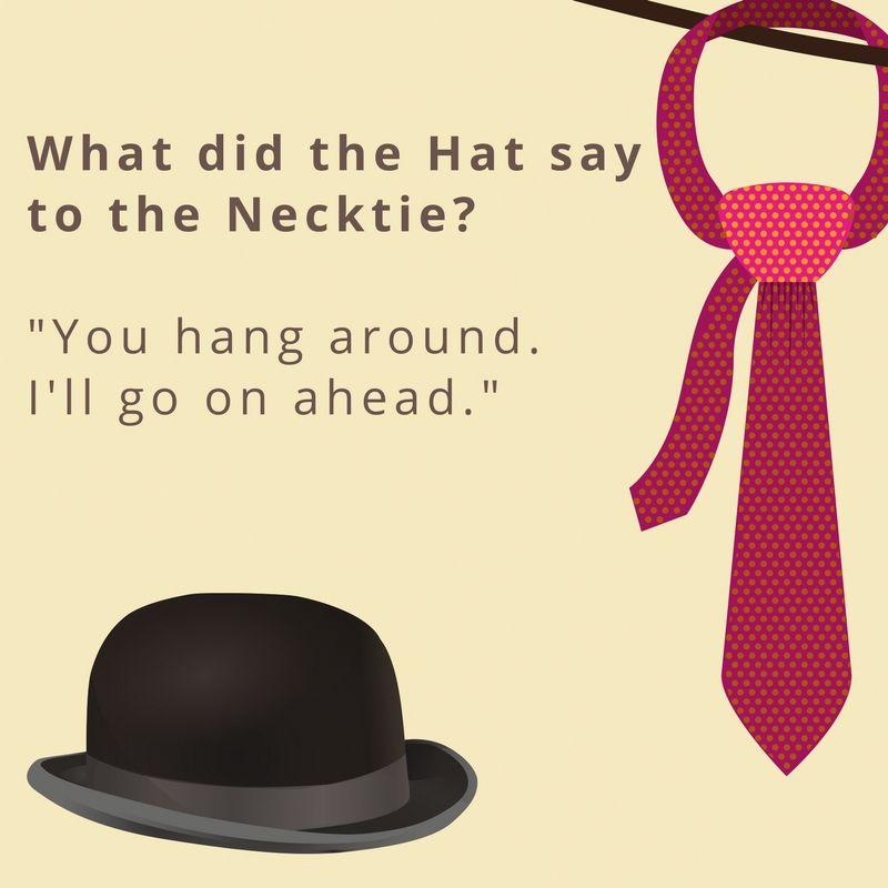 Necktie Humor This Is A Classic Jokes Neck Tie Crochet Hats