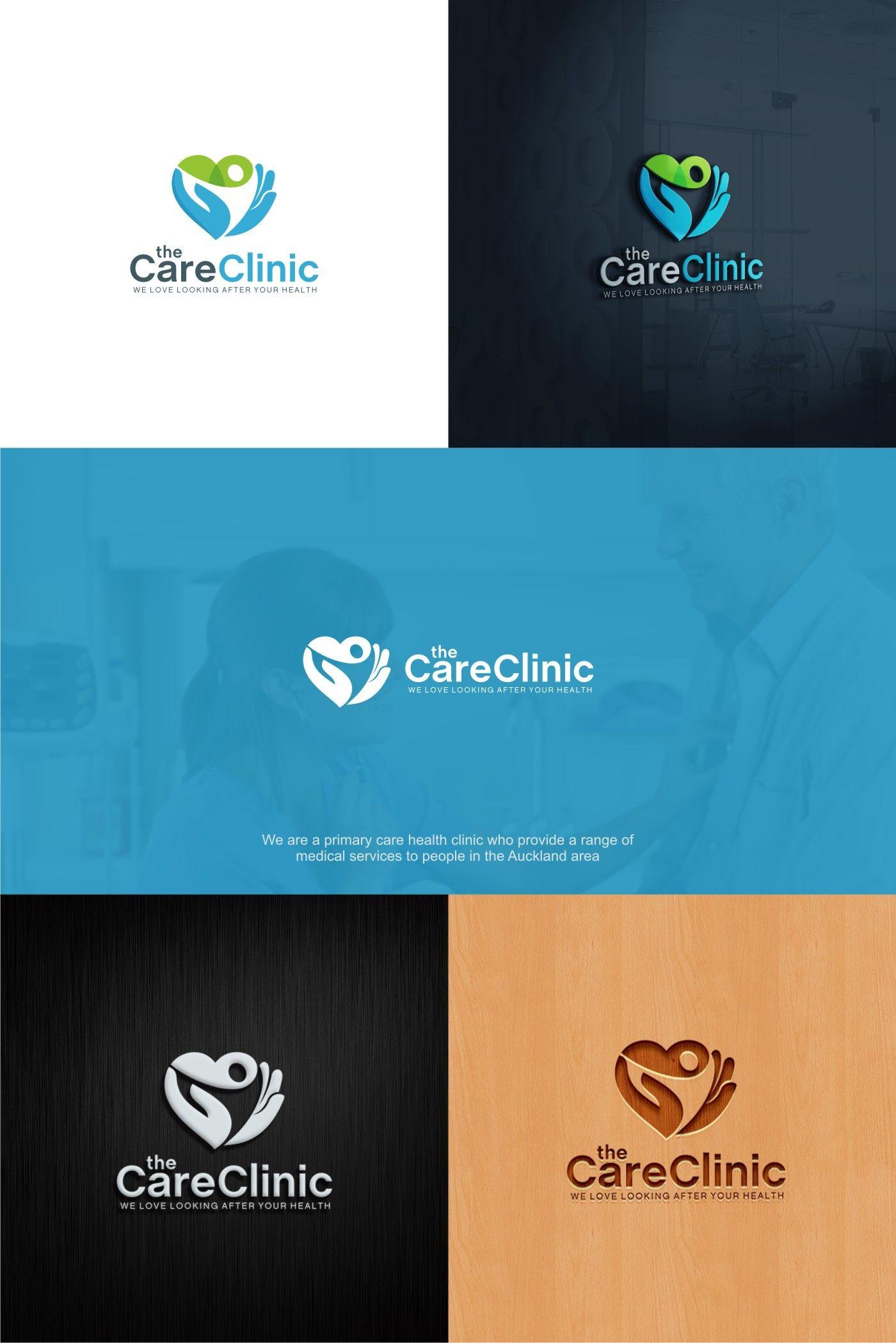innovative medical clinic logo.