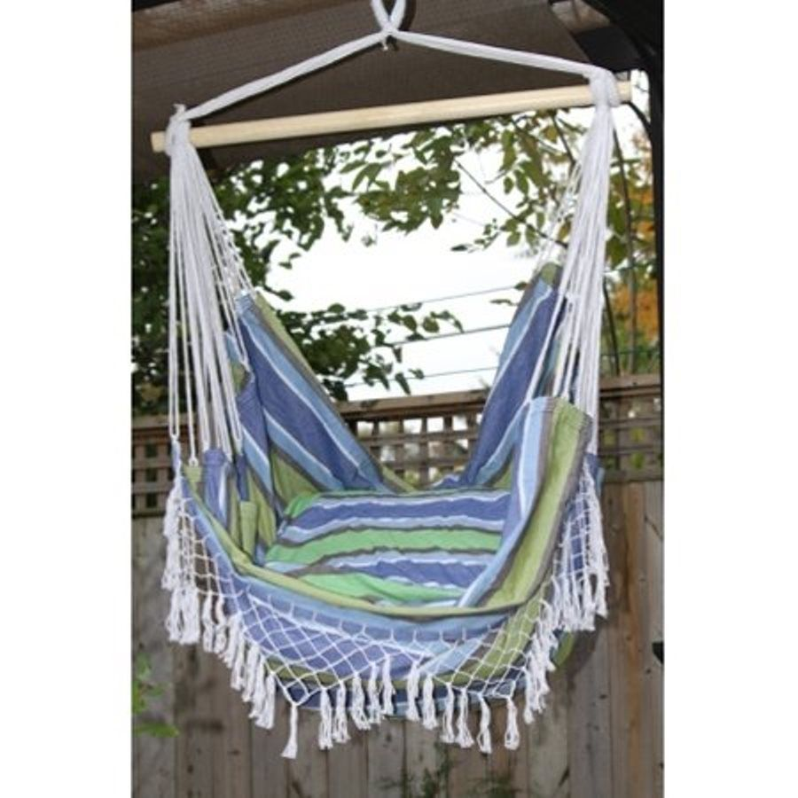 Vivere brazilian style oasis fabric hammock chair b hammock