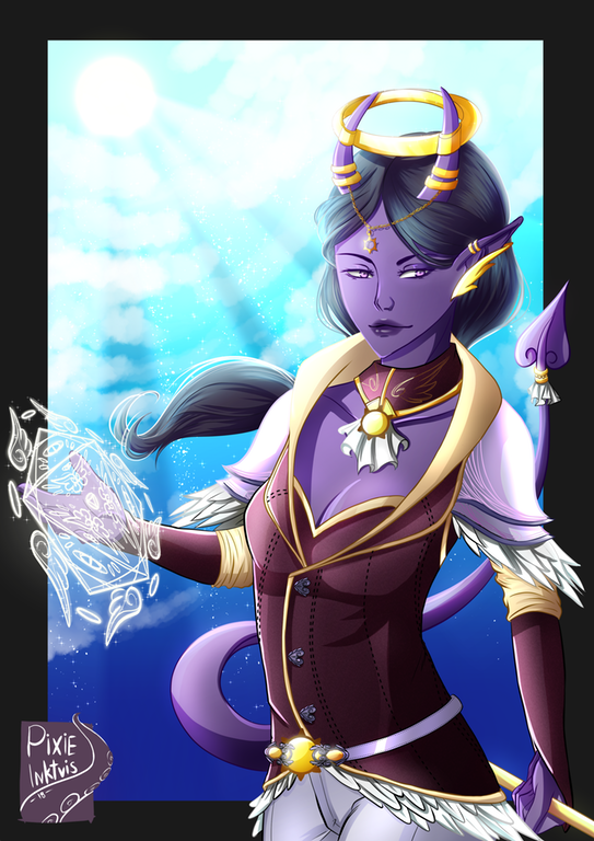 Oc Art My Divine Soul Sorcerer Tiefling For A Heroic Campaign Dnd Dungeons And Dragons Characters Art Sorcerer You need to have a forceful personality to that wraps up our divine soul sorcerer 5e guide. my divine soul sorcerer tiefling for a