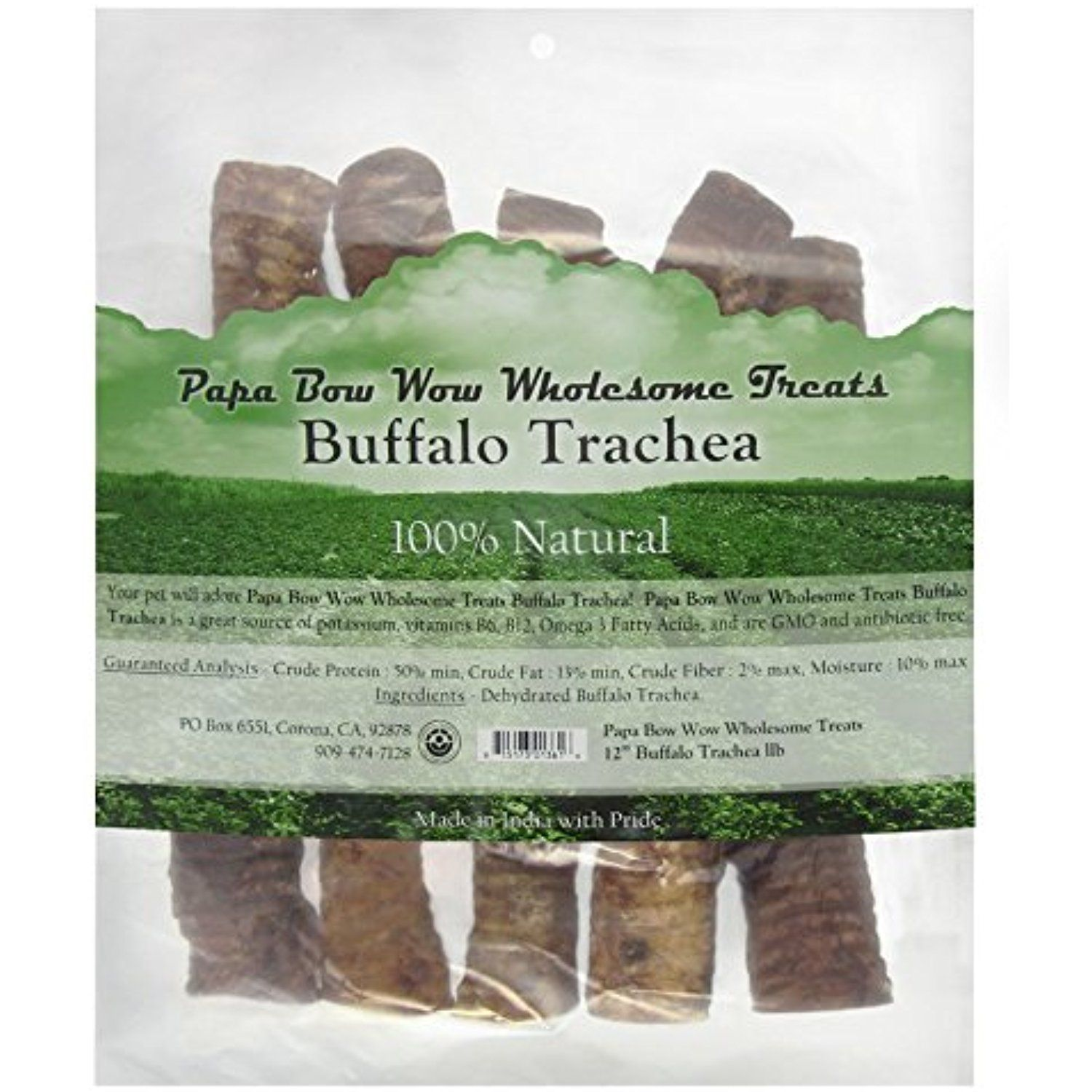 Papa Bow Wow Buffalo Trachea 12 Length S 1lb Bag You Can Learn More By Visiting The Image Link This Is An Affili Bow Wow Dog Dental Care Dog Training Pads