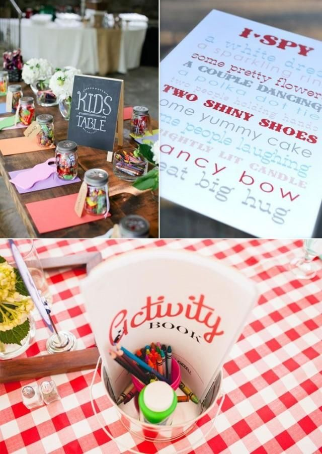 Unique Ideas For Fun Wedding Day Activities For Kids Wedding Party